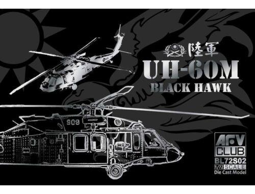 AFV-Club ROC Army UH-60M Black Hawk(Die Cast Mode -AF1 1:72 (BL72S02)