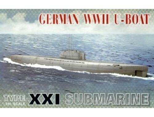 AFV-Club U-BOAT XXI 1:350 (SE73501)