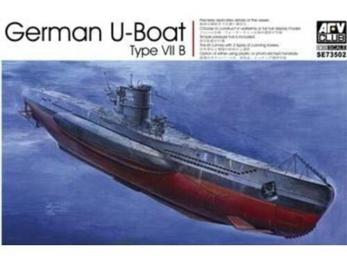 AFV-Club German U-Boat Type VII/B 1:350 (SE73502)