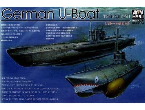 AFV-Club U Boat Type 7C41 1:350 (SE73504)