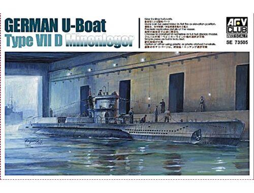 AFV-Club U Boat Type 7D 1:350 (SE73505)