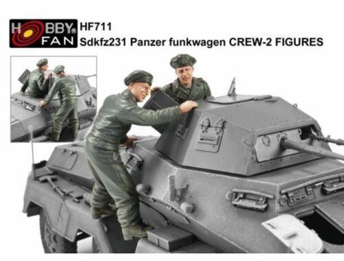 AFV-Club Sdkfz231 Panzer Funkwagen Crew 2 Figuren 1:35 (HF711)
