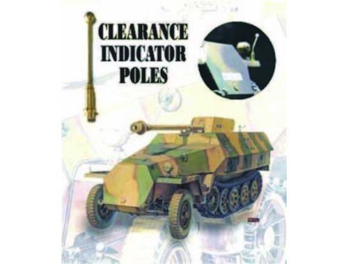 AFV-Club CLEARANCE POLES SDKFZ (6 PCS) 1:35 (C35002)