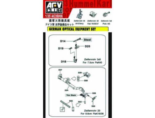 AFV-Club GERMAN OPTICAL SET 1:35 (C35006)