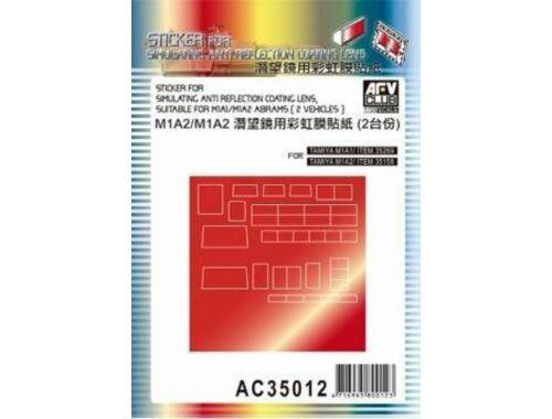 AFV-Club Sticker anti reflection for M1A1 M1 M2 1:35 (AC35012)