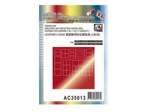 AFV-Club Sticker anti reflection for Leopard IIA5 1:35 (AC35013)