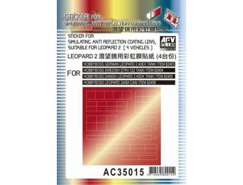 AFV-Club Sticker anti reflection for Leopard 1:35 (AC35015)