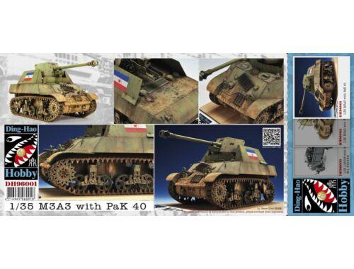 AFV-Club M3A3 with Pak 40 (Yugoslav) 1:35 (DH96001)