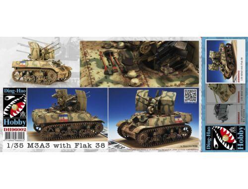 AFV-Club M3A3 with quad 20mm Flak-38V 1:35 (DH96002)