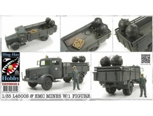 AFV-Club L4500S & EMC Mines w/1 Figure 1:35 (DH96004)