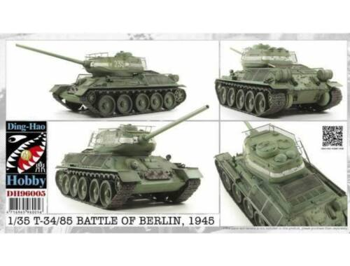 AFV-Club T34/85 Battle of Berlin 1945 1:35 (DH96005)
