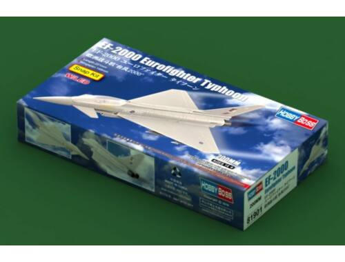 Hobby Boss EF-2000 Eurofighter Typhoon Snap Kit W/LED (81901)