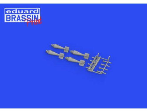 Eduard Sopwith Camel 20lb bomb carrier for EDUARD 1:48 (648662)
