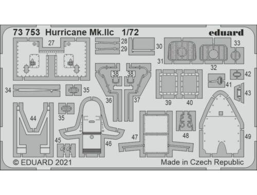 Eduard Hurricane Mk.IIc for ZVEZDA 1:72 (73753)