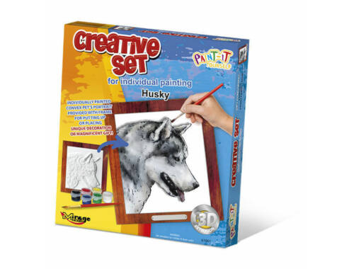 Mirage Hobby Creative Set, Dog - Husky  (61001)