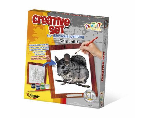 Mirage Hobby Creative Set, Small Pet - Chinchilla  (64008)