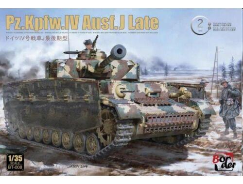 Border Model PZ.Kpfw.IV Ausf. J Last 2 in 1 1:35 (BT008)