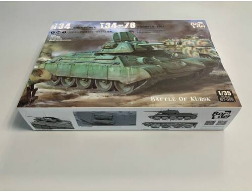 Border Model T34 Screened(Type1) T34-76 (Factory 112).2 in 1 1:35 (BT009)