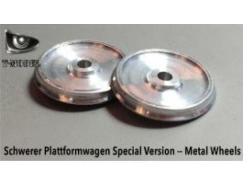 T-Model Metal wheels set(12pcs) German 80T Type SSYS Platformwagen 1:72 (TK72007)
