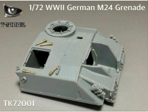 T-Model WWII German M24 Grenade 1:72 (TK72001)