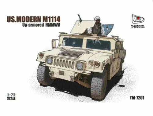 T-Model US HMMWV M1114 1:72 (TM7201)