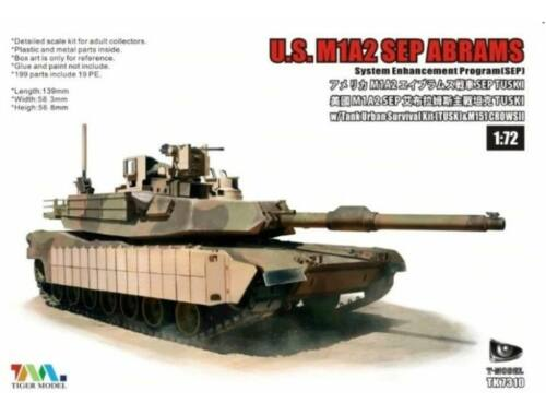 T-Model U.S.M1A2 SEP ABRAMS SEP TUSKI 1:72 (TK7310)