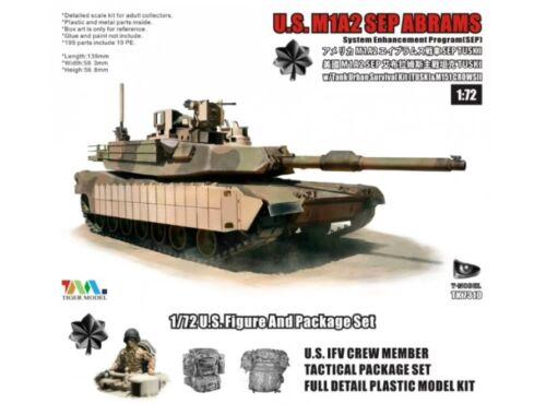 T-Model U.S.M1A2 SEP ABRAMS SEP TUSKI 1:72 (TK7310I)