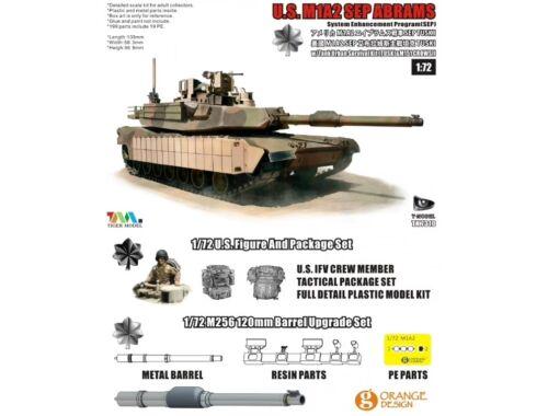 T-Model U.S.M1A2 SEP ABRAMS SEP TUSKI 1:72 (TK7310S)