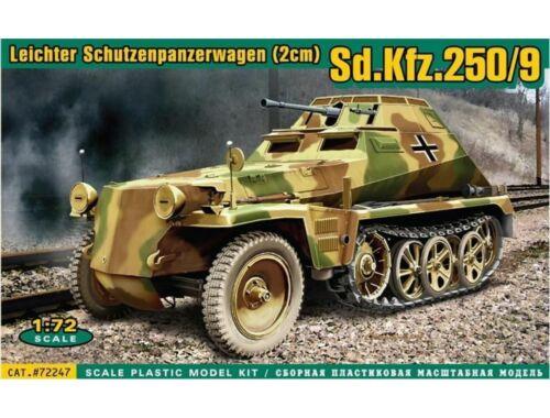 ACE Sd.Kfz.250/9 Leicht. Schützenp.wagen(2cm 1:72 (ACE72247)