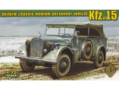 ACE Kfz.15 uniform chassis medium vehicle 1:72 (ACE72258)