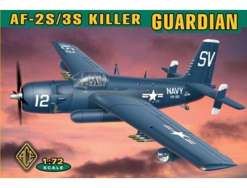 ACE Grumman AF-2S/3S Killer Guardian 1:72 (ACE72305)