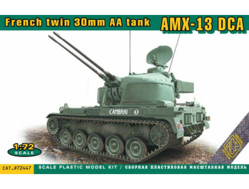 ACE AMX-13 DCA French twin 30mm AA tank 1:72 (ACE72447)