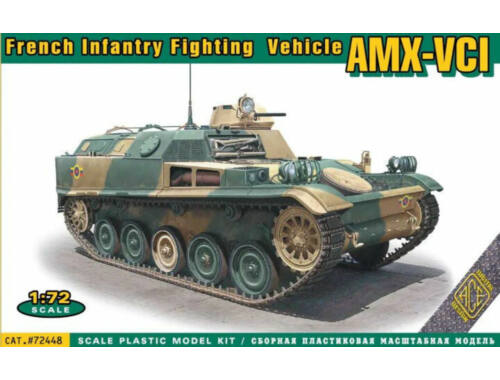 ACE AMX-VCI French Infantry Fighting Vehicle 1:72 (ACE72448)