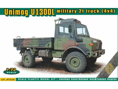 ACE Unimog U1300L 4x4 military 2t truck 1:72 (ACE72450)