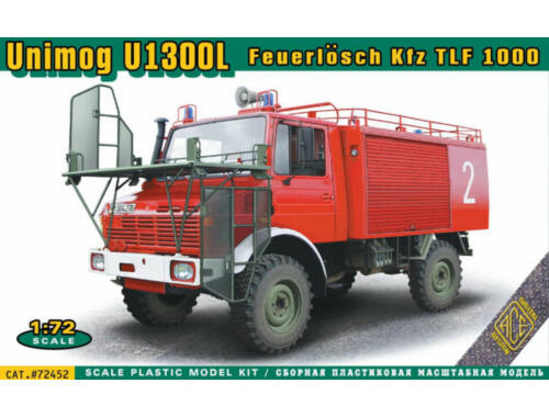 ACE Unimog U1300L Feuerlosch Kfz TLF1000 1:72 (ACE72452)