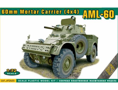 ACE AML-60 60mm Mortar Carrier (4x4) 1:72 (ACE72455)