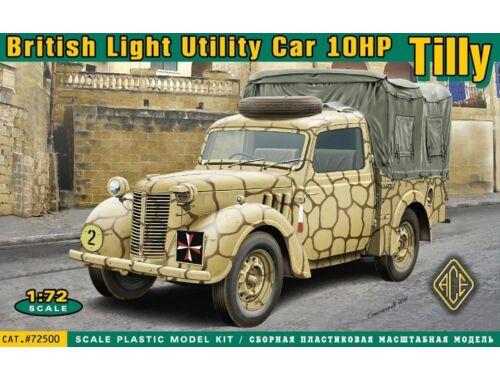 ACE British light utility car 10hp Tilly 1:72 (ACE72500)
