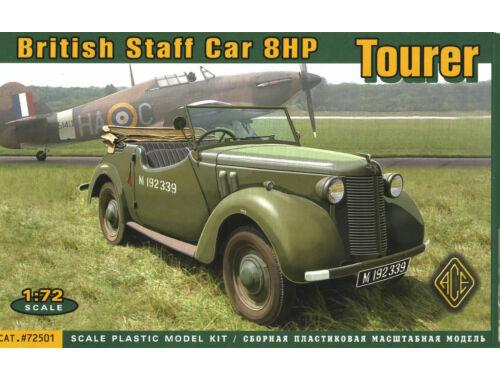 ACE British Staf car 8hp Tourer 1:72 (ACE72501)