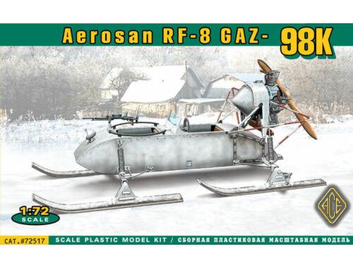 ACE Aerosan RF-8 GAZ-98K 1:72 (ACE72517)