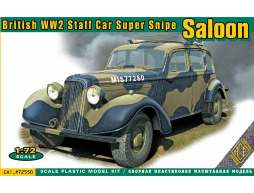 ACE Super Snipe Saloon British Staff Car WW2 1:72 (ACE72550)