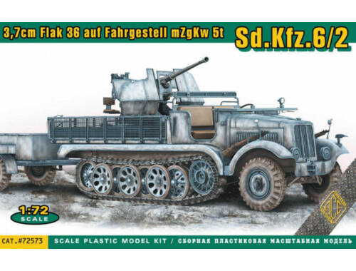 ACE SdKfz.6/2 3.7cm Flak 36 auf Fahrgestell mZgKw 5t 1:72 (ACE72573)