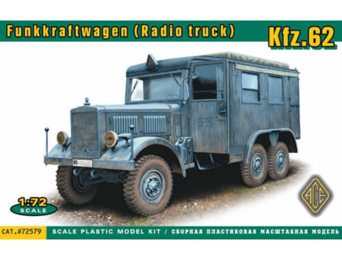ACE Kfz.62 Funkkraftwagen (Radio truck) 1:72 (ACE72579)