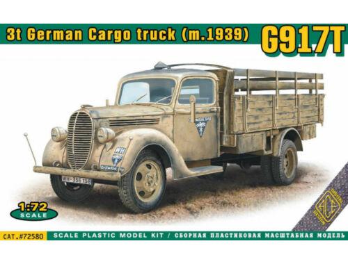 ACE G917T 3t German Cargo truck (mod.1939) 1:72 (ACE72580)