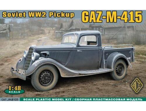 ACE WWII Soviet pick-up GAZ-M-415 1:48 (ACE48105)