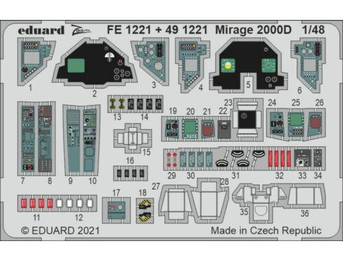 Eduard Mirage 2000D 1/48 KINETIC 1:48 (FE1221)