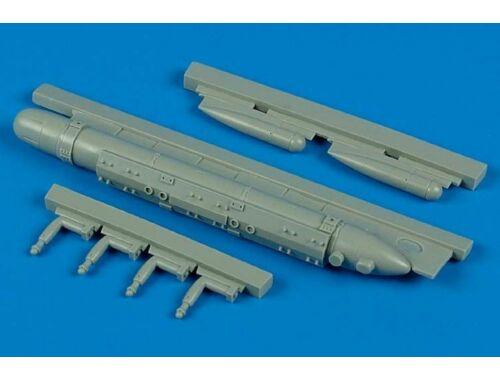 Aires AN/ALQ-188 Electronic Attack Training Pod für Tamiya-Bausatz 1:32 (2047)