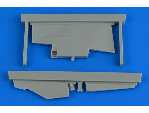 Aires MiG-23MF/MLD correct tail fin for trumpeter 1:32 (2235)