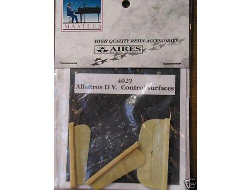Aires Albatros D.V Steuerflächen für Eduard Bausatz 1:48 (4029)