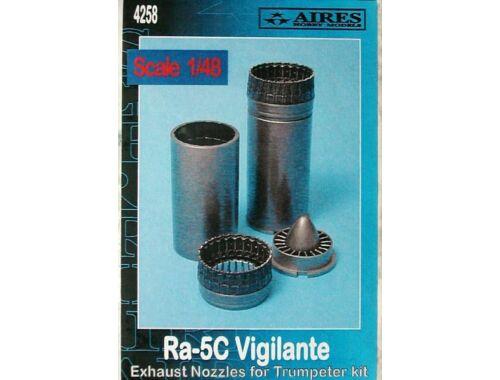 Aires RA-5C Vigilante Exhaust nozzles 1:48 (4258)