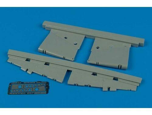 Aires J35 Draken control surfaces für Hasegawa Bausatz 1:48 (4432)